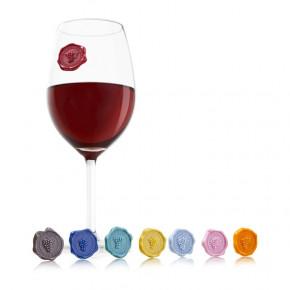 Lot de 8 marque-verres classic