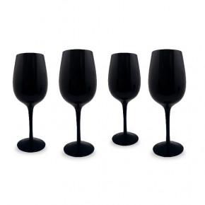 Verre Noir Vin Bouquet...