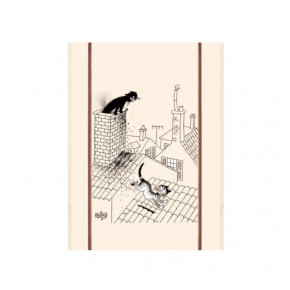 FIN DE SERIE - Torchon Chat...