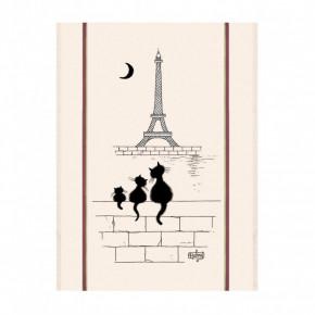 Torchon Chat Tour Eiffel
