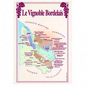 Torchon Vignoble Bordelais...