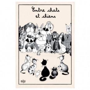 Torchon Chat Dubout Entre...