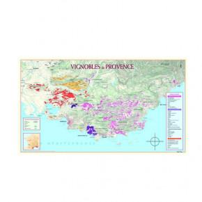 Carte des Vignobles de la...