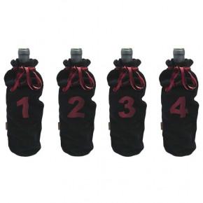 Set de 4 chaussettes de...