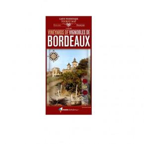 Carte touristique vignobles...