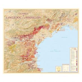 Carte des Vignobles du...
