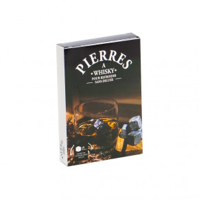 Coffret 9 pierres à Whisky